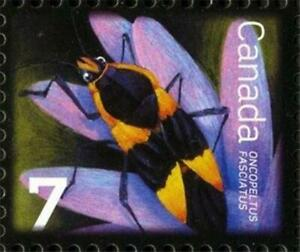 Canada 2010 📭🐞🐜🐛🐜 LARGE MILKWEED BUG Single 🐜🐛🐞📬  MNH ~ Scott # 2408