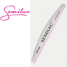 SEMILAC Nail File HARBOR-BRIDGE 100/180 Straight Curved Banana Acrylics UV Gel