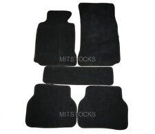 FIT FOR 1997 - 2003 BMW E39 5-SERIES BLACK CARPET FLOOR MATS 5 PCS NEW