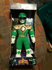 1993 Mighty Morphin Power Rangers Green Tommy Plush (In Box) Saban