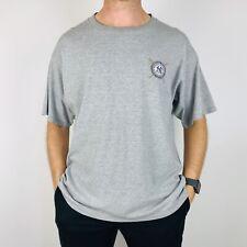 Vintage New York Yankees T-Shirt para Hombre XL Gris Mlb 2002 Lee Sport