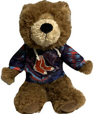 "MLB BOSTON RED SOX BASEBALL 12"" PLUSH TEDDY BEAR GOOD STUFF TIE DYE SWEATSHIRT"