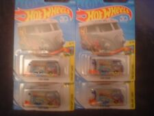 New Hot Wheels Collectors Kool Kombi Vw Mini Drag Bus1:64 Lot of 4 Ninmp