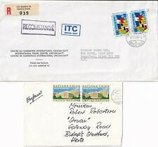 More details for p4339 united nations geneva 11 diff stamp covers postcard mainly uk 1970s 1980s