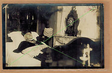Carte Photo vintage card RPPC Boudrié Nancy post mortem cardinal Mathieu al061