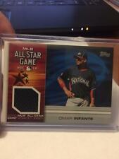 2010 Topps Update Omar Infante Jersey Relic ALL STAR Card BRAVES