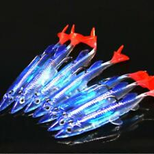Fishing Lures Minnow Hard Luminous Crank Bait Night Fish Popper With Hooks Carp#