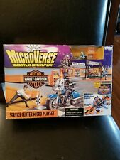 Kenner Harley-Davidson Microverse Service Center Micro Playset 1996 New In Box
