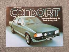 FORD GRANADA CONSORT Car Sales Brochure FA516