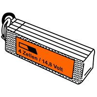 JuBaTec LiPo Akku 4S mit 14,8 Volt und verschiedenen Kapazitäten und C-Raten