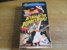 Attack of the Puppet People (VHS, 2000) MGM Midnite Movies! 1958 Classic!