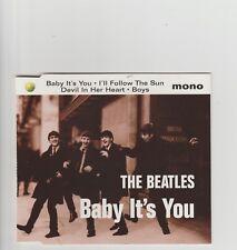 Beatles- Baby It's You UK cd single