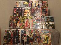 Ultimate X-men comic book lot + double signed X-Men Unlimited w/COA