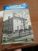 Indiana Information Guide with Map vintage
