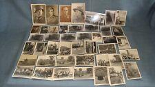 Konvolut - 43 alte Fotos von Soldaten, 2. WK, schwarz-weiß