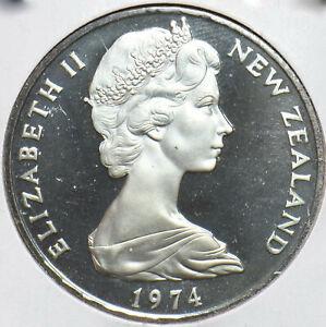 New Zealand 1974 2 Cents Elizabeth II 293411 combine shipping
