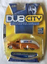 Jada Toys Dub City '39 1939 Dodge Airflow Tanker Orange Union 76 Die-Cast 1/64