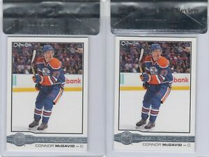 2015/16 CONNER MCDAVID OPC GLOSSY ROOKIE CARD LOT R-1 BGS 9 MINT EDMONTON OILERS