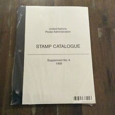 Sealed United Nations Stamp Catalogue Supplement No. 4 1998