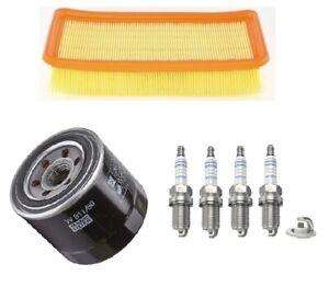 Service Kit Fits Kia Rio II JB 1.4 16v 1.6 Mann Oil Bosch Air Filter Spark Plugs
