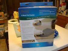 New listing PetSafe Eatwell 5 Meal Automatic Feeder Dog/Cat 5 Day Programing 5 165g Sealed