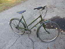 VINTAGE LADIES 21 3/16 IN 3 SPEED RALEIGH BICYCLE FOR RESTORATION USA SALE ONLY