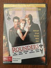 Rounders DVD Widescreen Region 4 New & Sealed Matt Damon Edward Norton