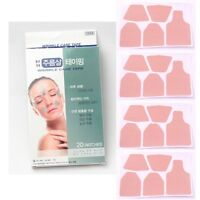 [Made In Korea] 20 PATCHES ANTI-WRINKLE CARE TAPE Forehead Brow Laugh Lines Eye