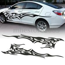 83'' X 19'' Car Decal Vinyl Graphics Two Side Stickers Body Decals Sticker Black