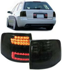 ALL SMOKED LED REAR TAIL LIGHTS FOR AUDI A6 C5 ESTATE STATION WAGON NICE GIFT