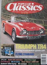 Popular Classics 05/1994 featuring Triumph TR4, BMW 635CSi, Rover SD1, Austin