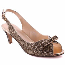 Buckle Kitten Evening Shoes for Women