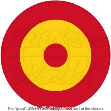 SPAIN Spanish AirForce, Army NAVY Aircraft Roundel 100mm Vinyl Sticker Decal