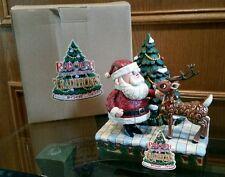 Enesco Jim Shore Santa Rudolph Red Nosed Reindeer Traditions 2007