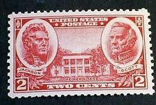 U.S. Scott # 786 - 1936 -  ' Jackson, Scott & the Hermitage ' MNH OG F-VF