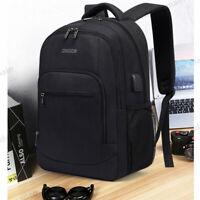 OSOCE USB Waterproof Laptop Backpack Travel Bag Computer Notebook Bag School Bag