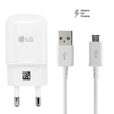 Micro USB Data Cable & Fast Charger Adapter EU Plug For LG V10 G4 G3 K20 FLEX 2