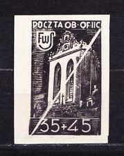 (PL) Polish Officers POW Camp Woldenberg Fi 44 blackprint expertised