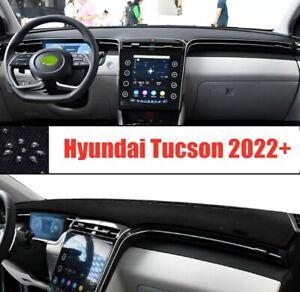 For Hyundai Tucson 2022-2023 black Car Inner Dash Mat DashMat Sun Cover Pad