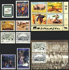 UN Vienna . 1995 Year Set (178-192) Stamps, Sheets + Booklet . Mint Never Hinged