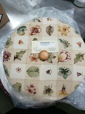 New ListingLongaberger Large Fruit Sewing Basket Woven Traditions Lid New