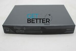 USED Cisco C881-K9 Router 5 Ports Ethernet Management Integrated Services