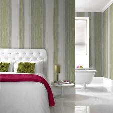 Superfresco Easy Paste the wall Twine Pear Green Stripe Wallpaper