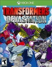 Transformers: Devastation - Microsoft Xbox One Game - Complete