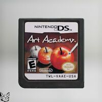 Art Academy [Nintendo DS Art Drawing Game DSi DS Lite AUTHENTIC! USA SELLER]