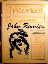Comic book Profiles n.4 1998 JOHN ROMITA sr. interviews