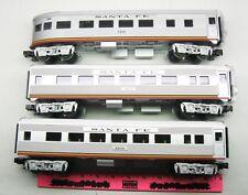 Lionel ~  3105, 3103, & 3198 Santa Fe 3 passenger Car