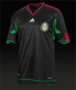 MEN'S ADIDAS MEXICO NATIONAL 2010/2011 AWAY SOCCER FOOTBALL SHIRT JERSEY SIZE S