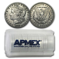 1878-1904 Morgan Silver Dollars 20-Count Roll VG-VF (Cleaned) - SKU#168251