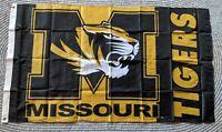 New University Of Missouri Mizzou Tigers NCAA Licensed 3' X 5' Flag